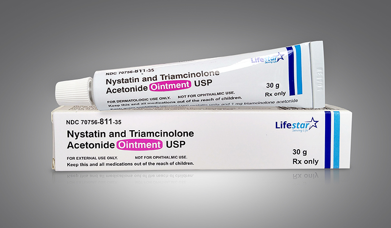 Nystatin and Triamcinolone Acetonide Ointment 15mg